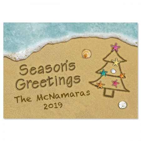 Sandy Holiday Christmas Cards