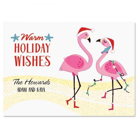 Flamingo Christmas Cards.Flamingo Gang Christmas Cards