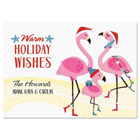 Flamingo Gang Christmas Cards