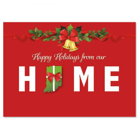 Home State Holiday Christmas Cards