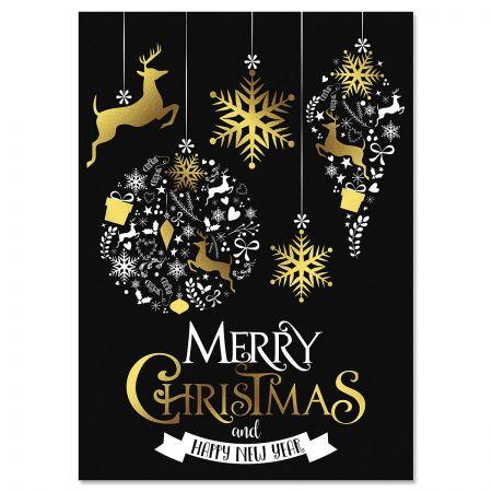 Festive Holiday Christmas Cards