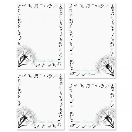 Dandelion Notes Personalized Notepad Sets