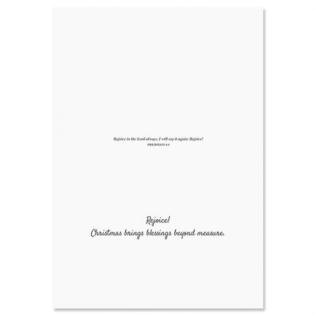 Glory to God Religious Christmas Cards