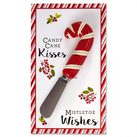 Candy Cane Spreader on Card