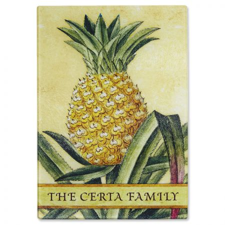 Pineapple Tempered Glass Cutting Board