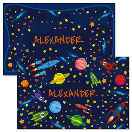 Space Personalized Kids' Placemat