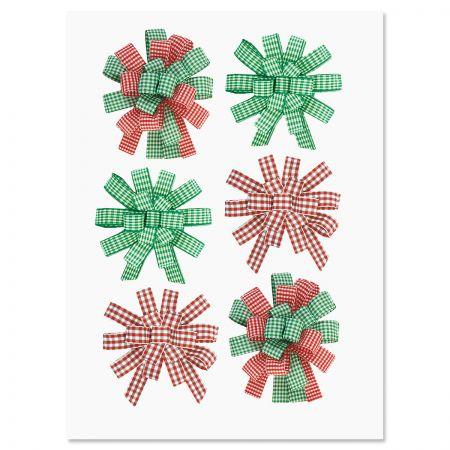 Holiday Sticker Bows - BOGO