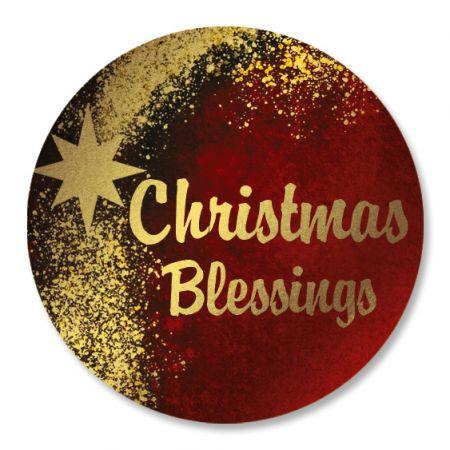 Faith Foil Christmas Seals