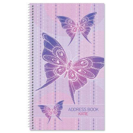 Boho Butterfly Address Book