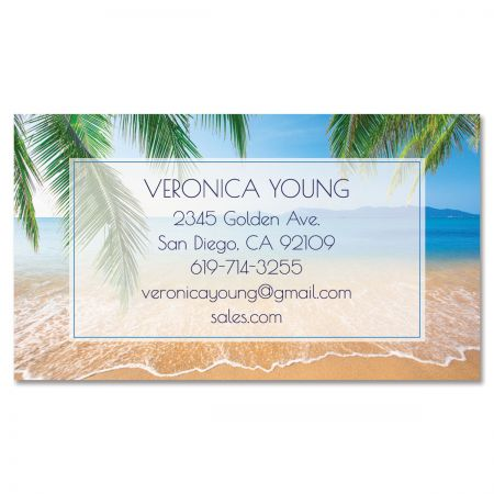 Sea View Standard Business Card