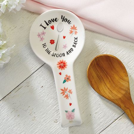 I Love You Ceramic Spoon Rest - BOGO