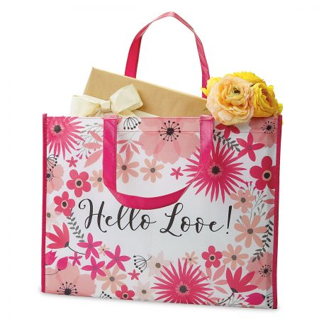 Hello Love Shopping Tote - BOGO