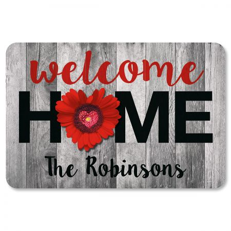 Home & Heart Personalized Doormat