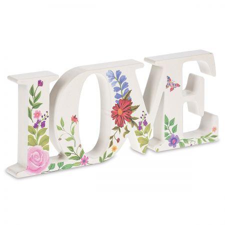 Diecut Blooming Love Sign