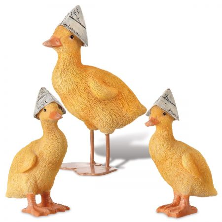 Vintage Easter Ducks