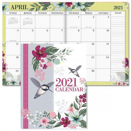 2021 Painted Petals Desk Calendar