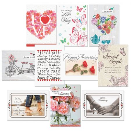Celebrating Love Wedding and Anniversary Cards Value Pack