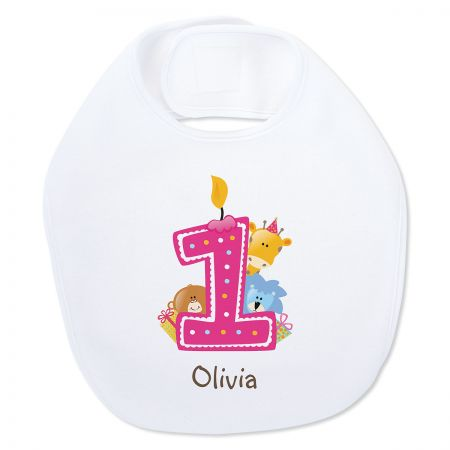 Baby's 1st Birthday Personalized Bib