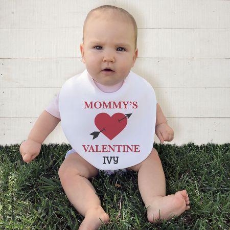Baby's Valentines Day Personalized Bib