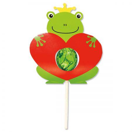 Valentine Frog  Lollipop Holders - BOGO