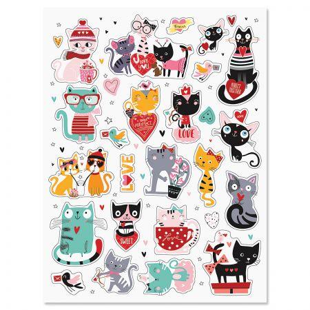 Cat Valentine Stickers
