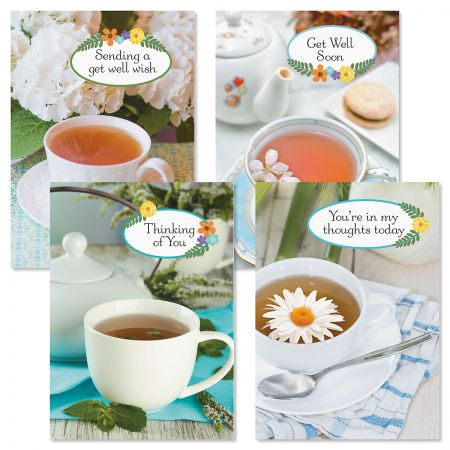 Cup of Cheer Get Well Cards & Seals