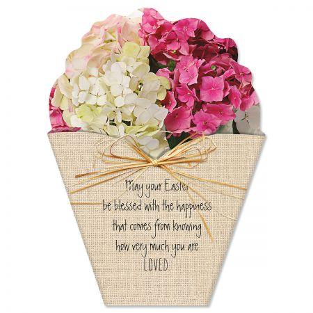 Diecut Bouquet Easter Cards