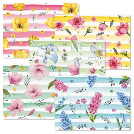 Fresh Blossom Note Cards Value Pack - BOGO