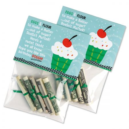 Birthday Dough Treat Bags & Toppers - BOGO
