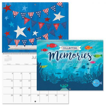 2021 Collecting Memories Scrapbooking Calendar