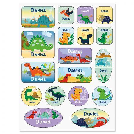 Dinosaur Personalized Stickers