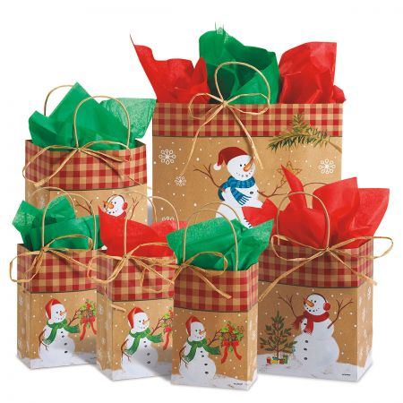 Snowman Gift Bags