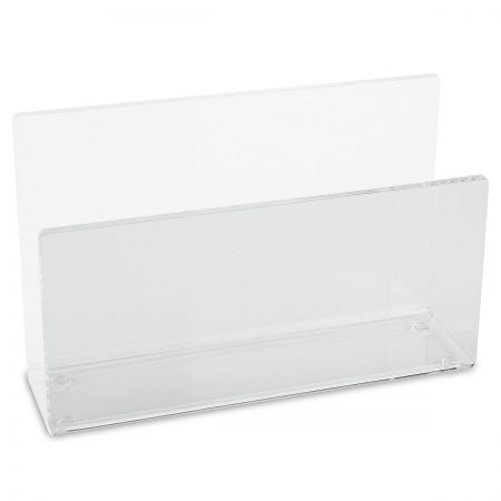 Acrylic Upright Notepad Holder