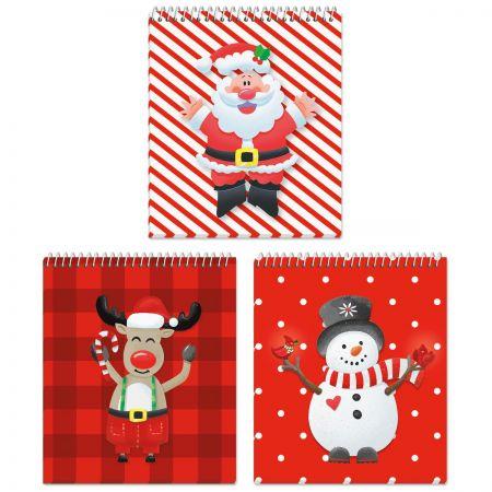 Happy Santa Mini Notebooks - BOGO