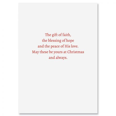 All Is Calm Religious Christmas Cards
