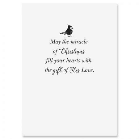 For You at Christmas Religious Christmas Cards