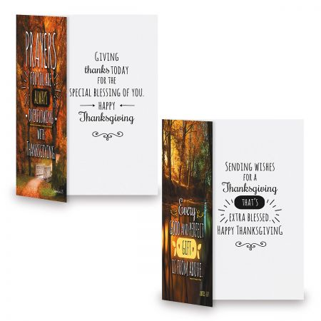 Season of Blessings Faith Thanksgiving Cards