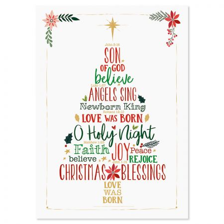 Christmas Blessings Religious Christmas Cards