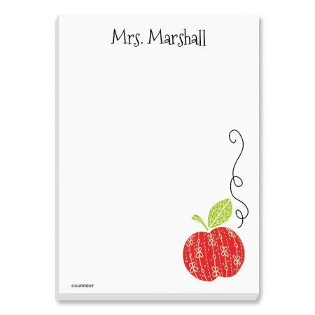 Teacher Personalized Notepad Set