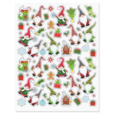 Christmas Gnome Stickers - BOGO