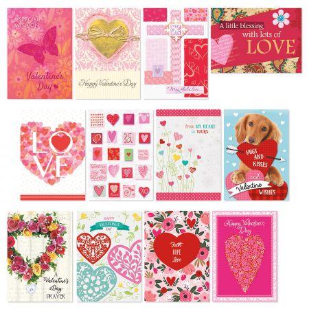 Faith Valentine Cards Value Pack