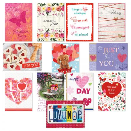 Valentine Classic Cards Value Pack