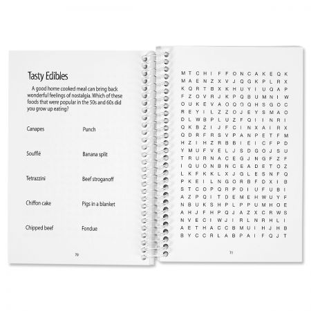 A Senior Moment Word Search Puzzle Book