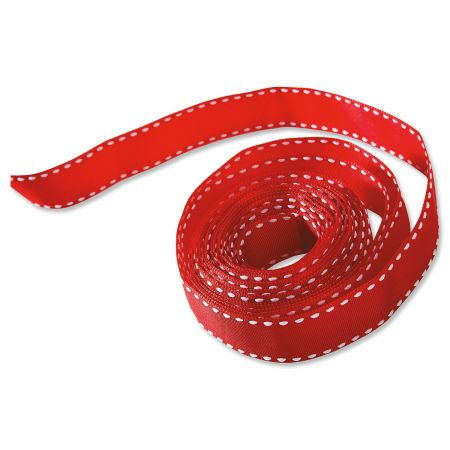 Red Grosgrain Ribbon
