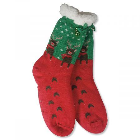 Jingle Slipper Socks