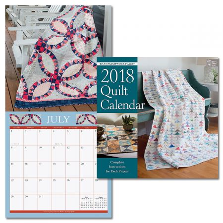 2018 That Patchwork Place Wall Calendar