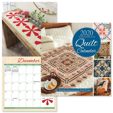 2020 That Patchwork Place Quilt Wall Calendar