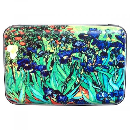 Irises Fine Art Armored Wallet