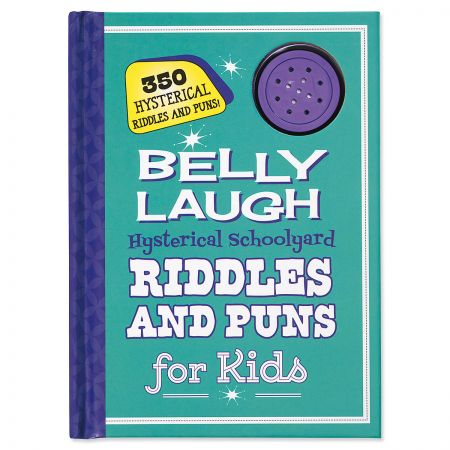 Schoolyard Riddles and Puns Belly Laugh Book for Kids