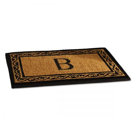Initial Coco Personalized Doormat